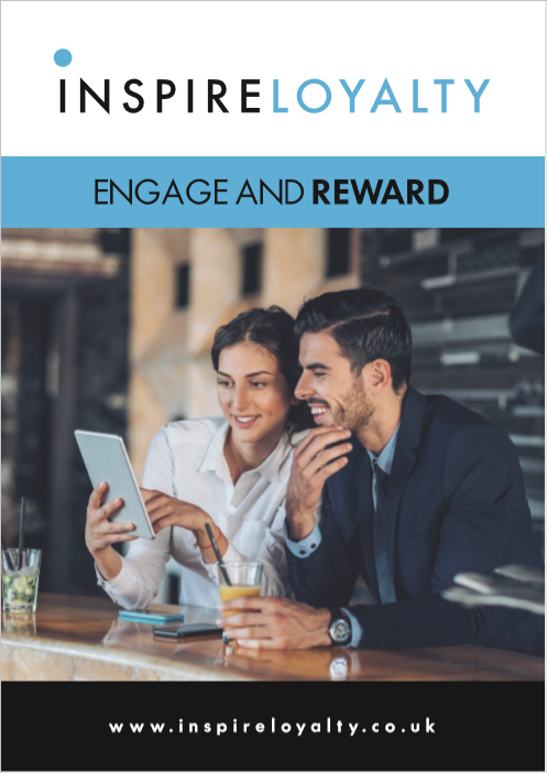 inspire loyalty brochure guide information Inspire loyalty, innovative, points based loyalty program for hotels.  Loyalty cards, loyalty app and bespoke loyalty website. Save on online travel agent commission, increase engagement levels with guests and reward them for repeat business, Staff incentives.